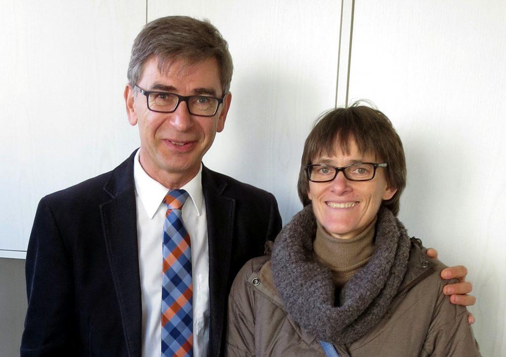 Rüdiger und Brigitte Zander